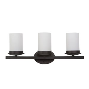 Columbia Rock Collection Three Lights Vanity