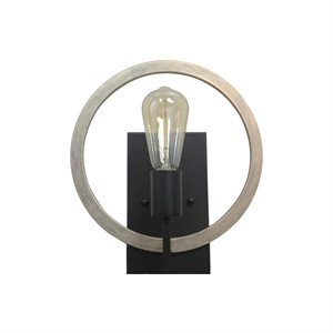 1 Light Sconce  in Oil Rubbed Bronze Finish