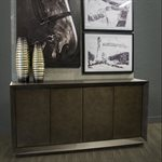 Edwards Leather Cabinet