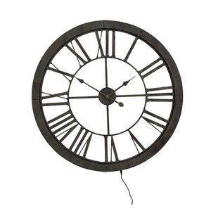 Tower II Wall Clock
