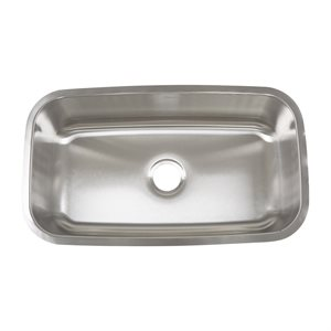 Undermount Single Bowl