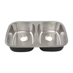 Undermount Double Bowl