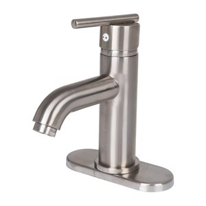 Single Handle Lavatory Faucet with Pop-up Drain